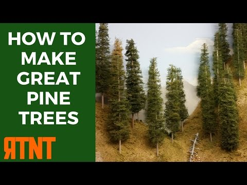 How to Make Model Pine Trees that Look Great and Realistic–RTNT009