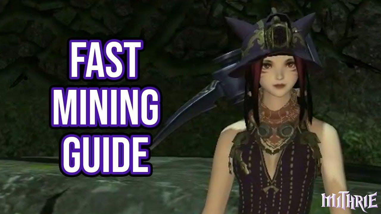 FFXIV 2 0 0124 Fast Mining (60 Sec Guide)