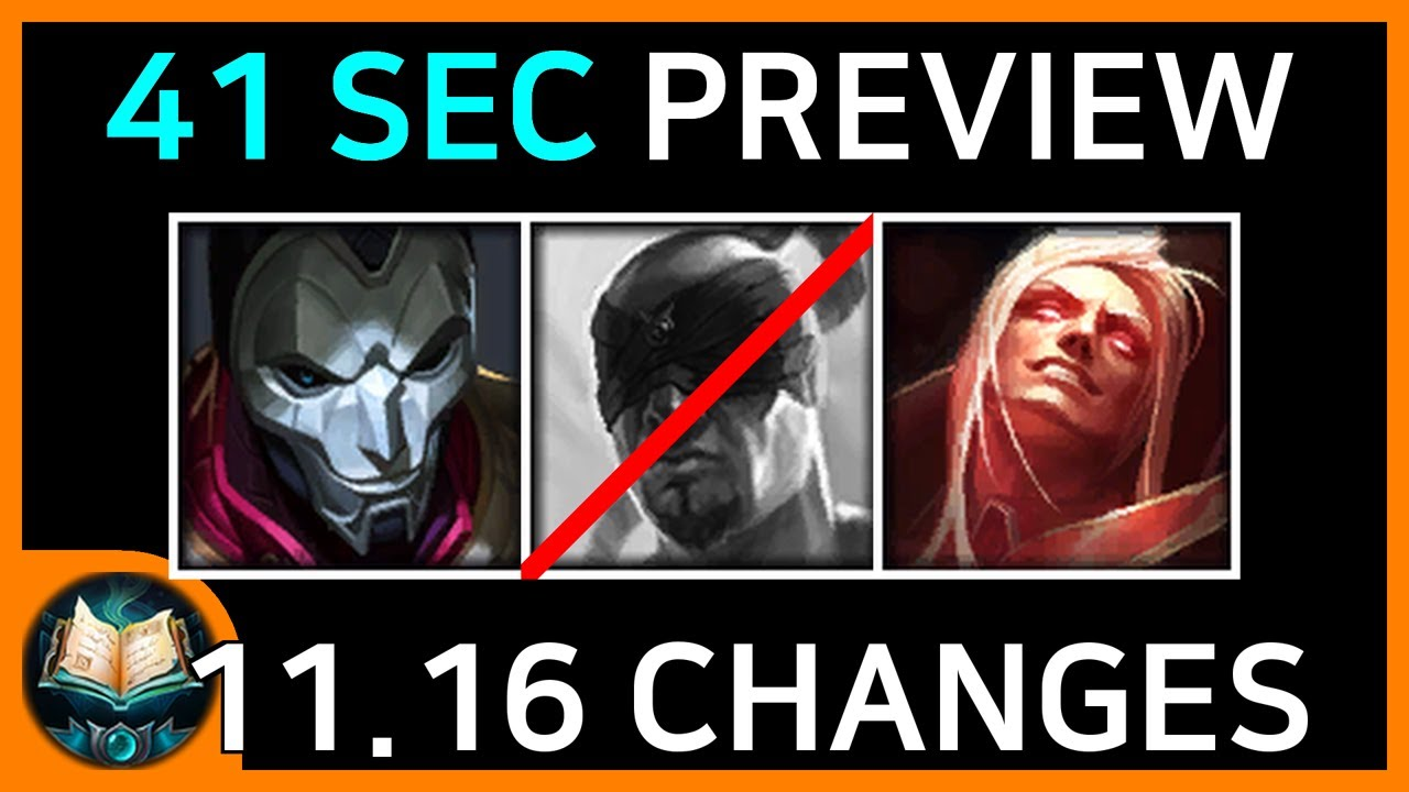 11.16 Patch Preview (1 Minute Summary)