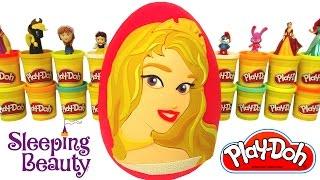 Uyuyan Güzel Prenses Aurora Sürpriz Yumurta Oyun Hamuru - Disney Prensesleri MLP Cicibiciler Minions