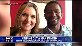 Act of kindness goes viral