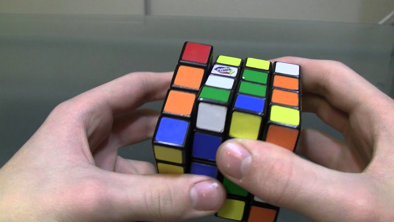 Rubik's Cube Montreal How To Solve The 4x4 Cube Redkb