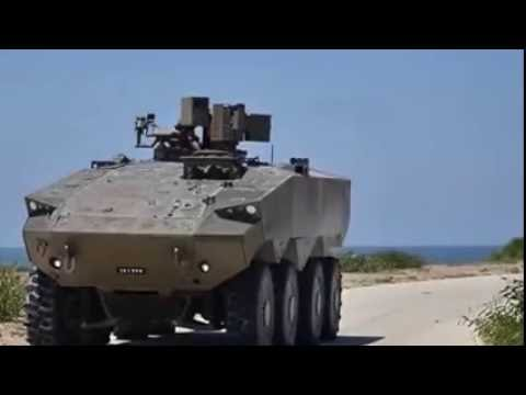 Israel's Eitan 8x8 Armored Personnel Carrier.