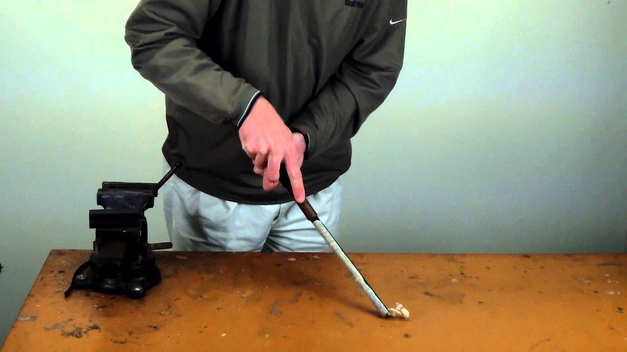 Easiest Way To Remove Golf Grip Tape The Uneekscraper Grip ...