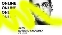 Edward Snowden Live / CPH:DOX online