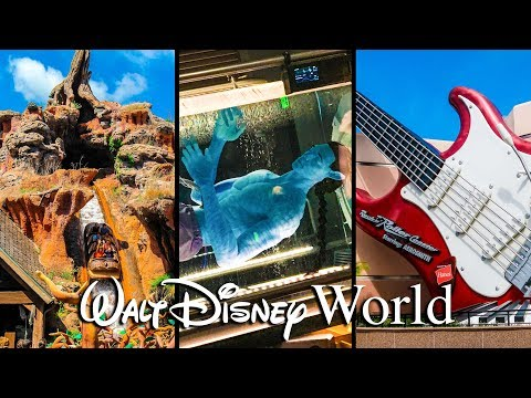 Top 10 Best Rides at Walt Disney World!