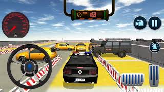 Police Car Parking: Free 3D Driving Games |  New Street Police Car Unlocked - Android GamePlay