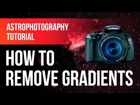 Astrophotography Tutorial: How to Remove Gradients in Photoshop