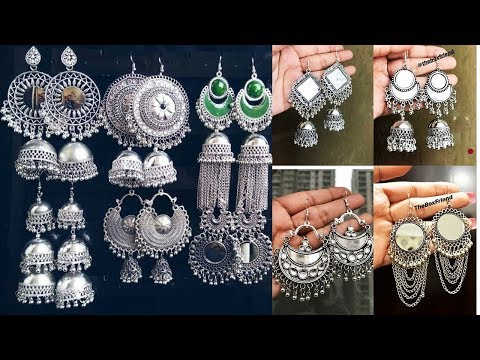 Exclusive Fancy Traditional Earrings Designs 2019 | Indian Jewellery Design 2019. http://bit.ly/2LFgXzZ