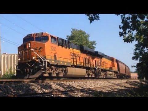 Kansas City Railfanning: BNSF Fort Scott Subdivision, Summer 2016