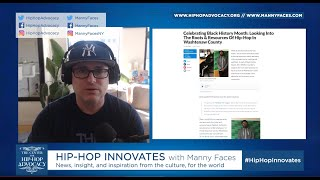 Hip-Hop Innovates - Intro plus hip-hop history, education, Black History Month & Artist of the Day