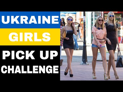 Beautiful Ukrainian Girls Street Pick up Challenge