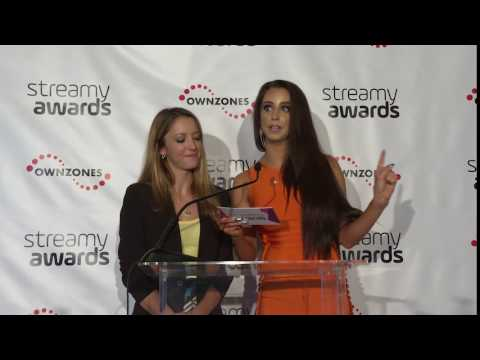 Taryn Southern & Syd Wilder Announce Live - Streamy Awards 2016