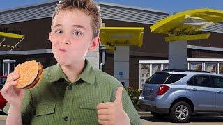 Boy Steals Mom's Car For McDonald's Run