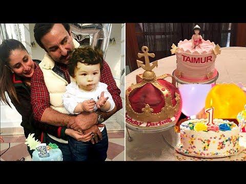 Taimur Ali Khan's CUTE 1st Birthday Party 2017 With Mommy Kareena & Papa Saif At Pataudi Palace