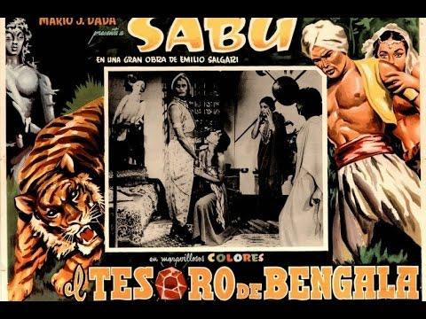 Il tesoro del Bengala  1953 di Gianni Vernuccio con Sabù
