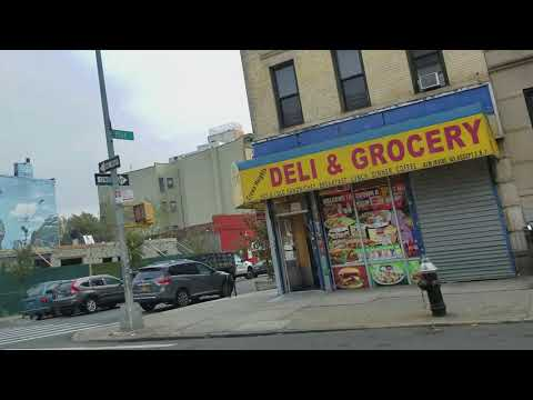 Local streets of Brooklyn. Flatbush, Crown Heights, Clinton Hill and Williamsburg
