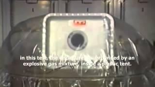 Ex d explosion test(Ex d explosion proof enclosure demonstration IEC 60079-0 & IEC 60079-1., 2015-05-15T23:32:18.000Z)
