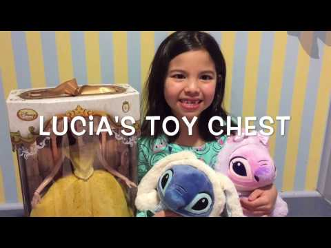 Limited edition live action Belle doll & Stitch & Angel Easter stuff dolls