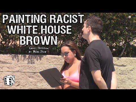 Liberals Push to Paint White House BROWN Because it