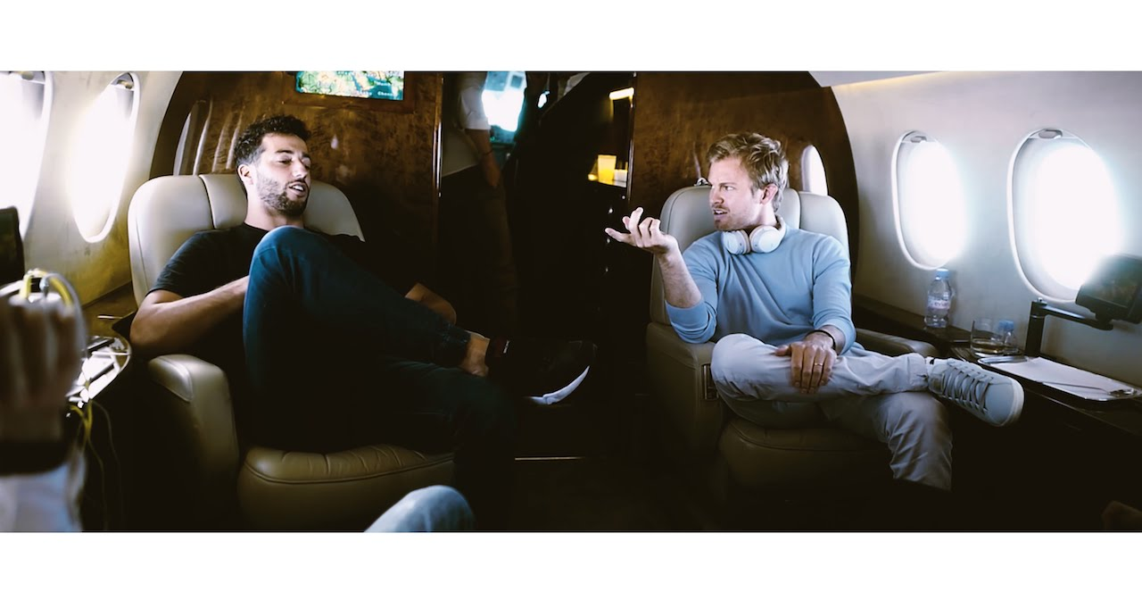 Nico Rosberg TRIP TO BAKU IN PRIVATE JET  YouTube