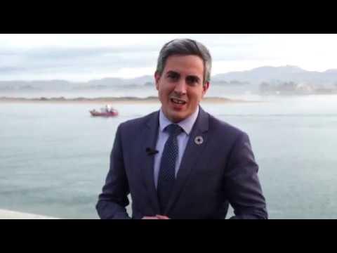 El vicepresidente de Cantabria, Pablo Zuloaga, felicita la Navidad 2019