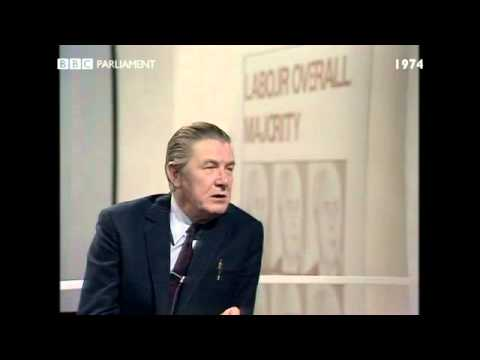 General Election October 1974: Robin Day interviews Brian Walden MP