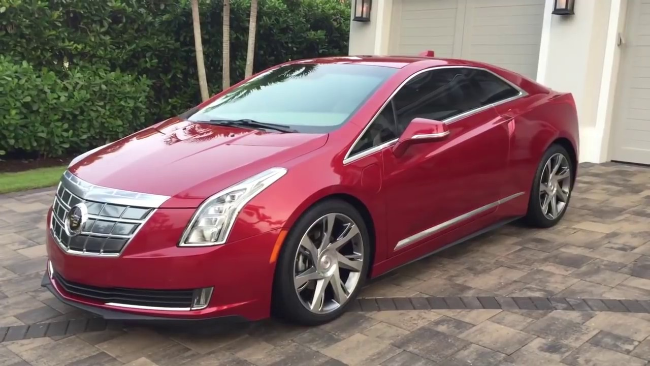 2017 Cadillac Elr Plug In Hybrid Review And Test Drive By Bill Auto Europa Naples