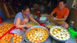 Chuyện lạ Bánh Cam chiên chảo khổng lồ từ 3h sáng xuất khẩu đi Mỹ ở chung cư Ngô Gia Tự Sài Gòn