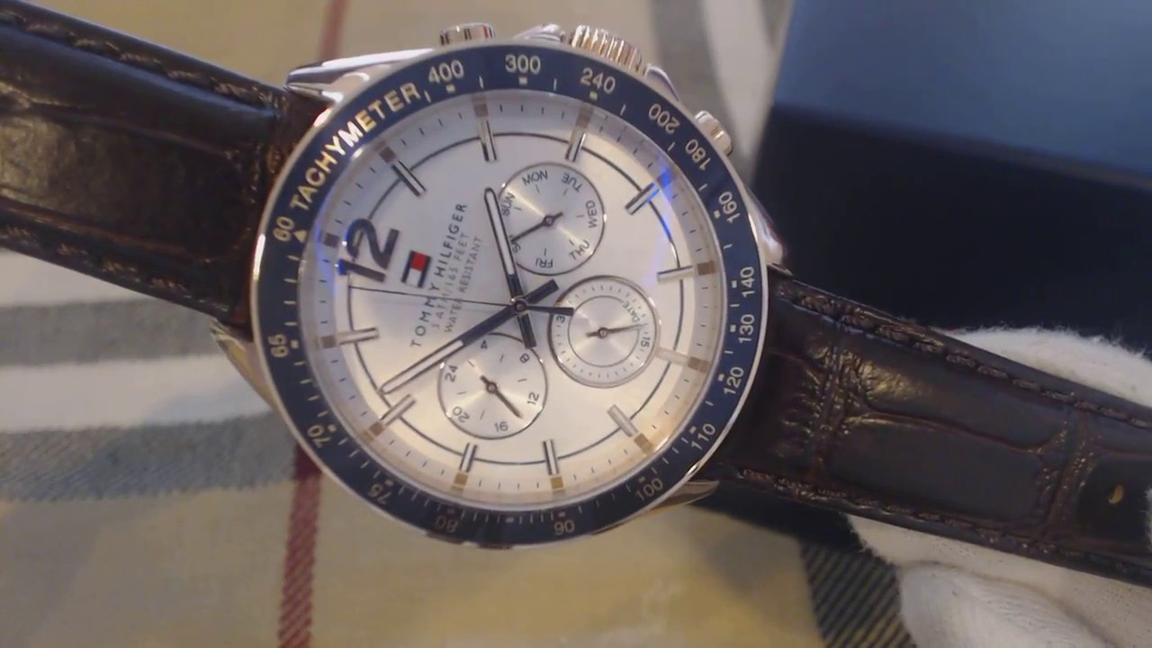8865d5f8 Men's Tommy Hilfiger Luke Multi Function Watch 1791118 - YouTube