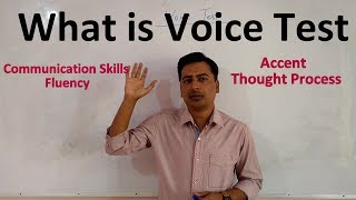 What is Voice Test in AAI Exam | Communication Skills | Accent | Fluency | Thought Process |