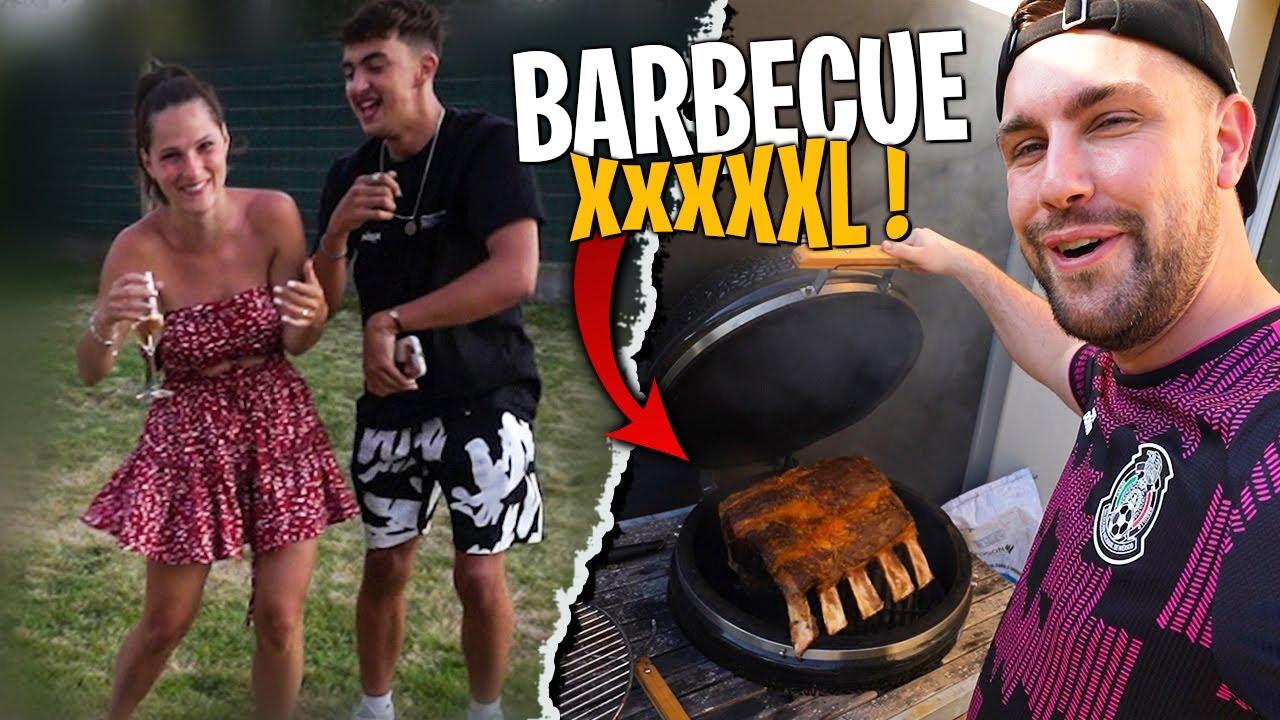 Inoxtag devient fou à cause de cette Côte de Boeuf XXXL au Barbecue ! (oh oui bébéaaooo)