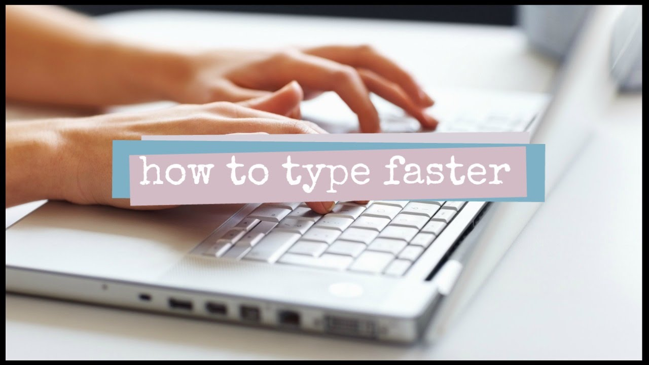 How to Improve Typing Speed // 2 Minute Study Tips - YouTube