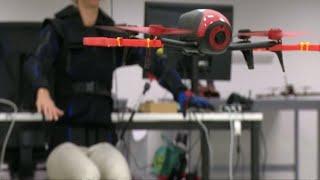 Drohnensteuerung: Körperbewegungen sollen Joystick ersetzen