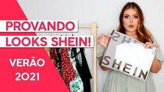 COMO COMPRAR NA SHEIN + PROVANDO LOOKS TENDÊNCIAS VERÃO 2021! - Adriana Alfaro - Fashion Frisson screenshot 5