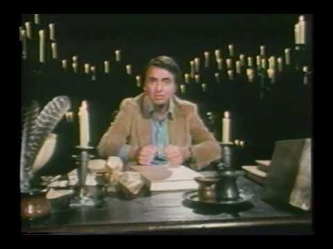 Johannes Kepler. Serie Cosmos de Carl Sagan