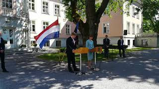 King Willem-Alexander in Estonia