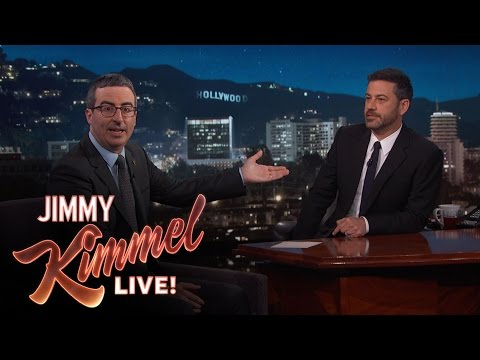 Thumbnail: Jimmy Kimmel Doubts John Oliver's Sincerity After Emmy Win