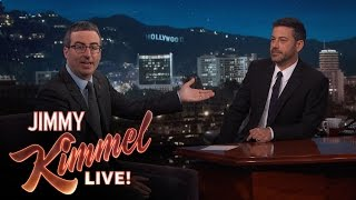 Jimmy Kimmel Doubts John Oliver's Sincerity After Emmy Win