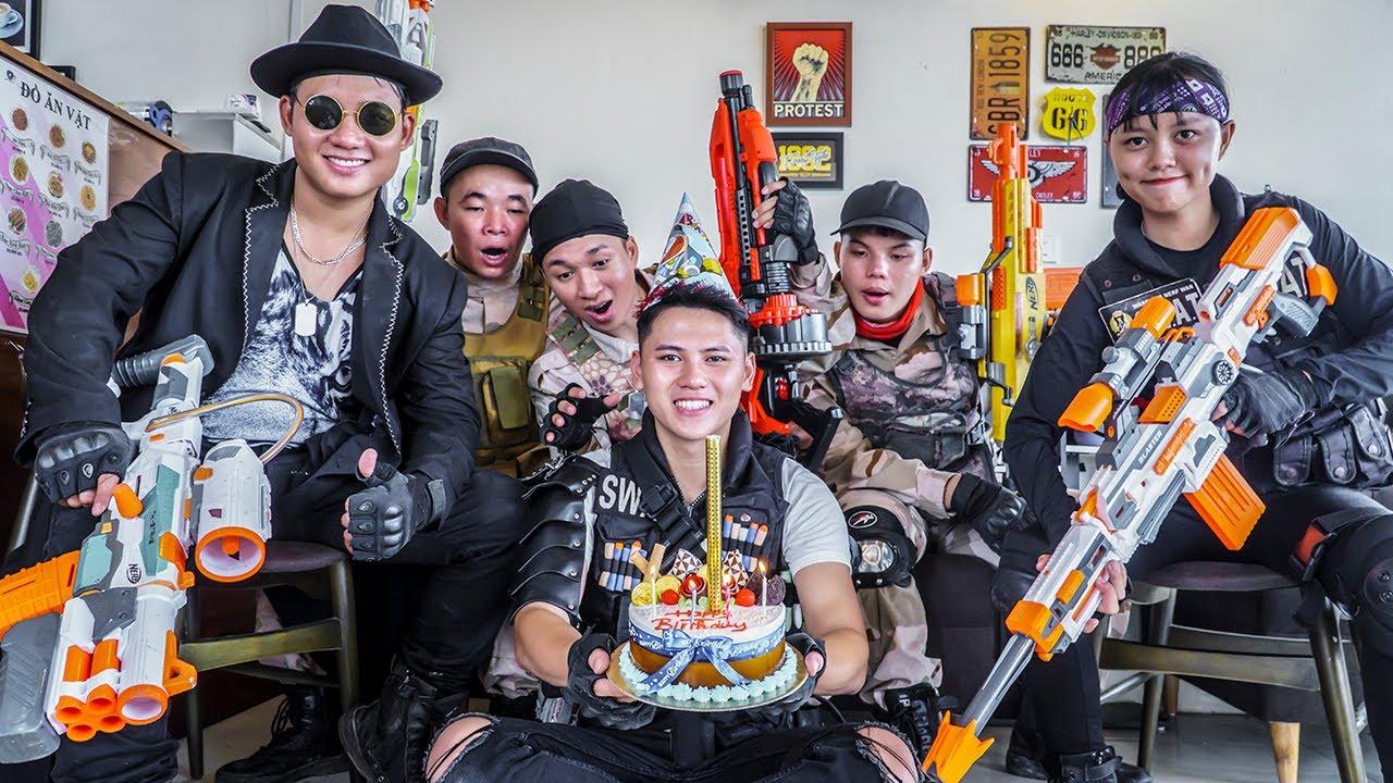 LTT Game Nerf War : Warriors SEAL X Nerf Guns Fight Braum Crazy Destroy Birthday Party