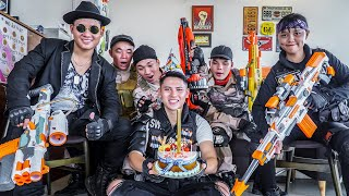 LTT Game Nerf War : Warriors SEAL X Nerf Guns Fight Braum Crazy Destroy Birthday Party
