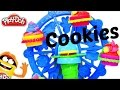 Play-Doh cookies for doll. Games for kids.