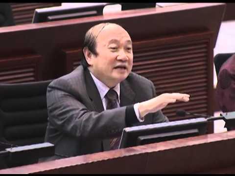 詹培忠反對 - 大嚿要求質諮曾蔭權涉嫌貪污 @ 內務會議 2012.2.21 (6) - YouTube