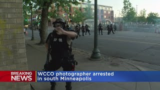 WCCO Veteran Photographer Struck By Rubber Bullet, Arrested By State Patrol
