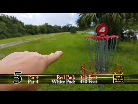 Disc Golf Course Walkthrough:  Shane Kelly Park [Oviedo, Florida]