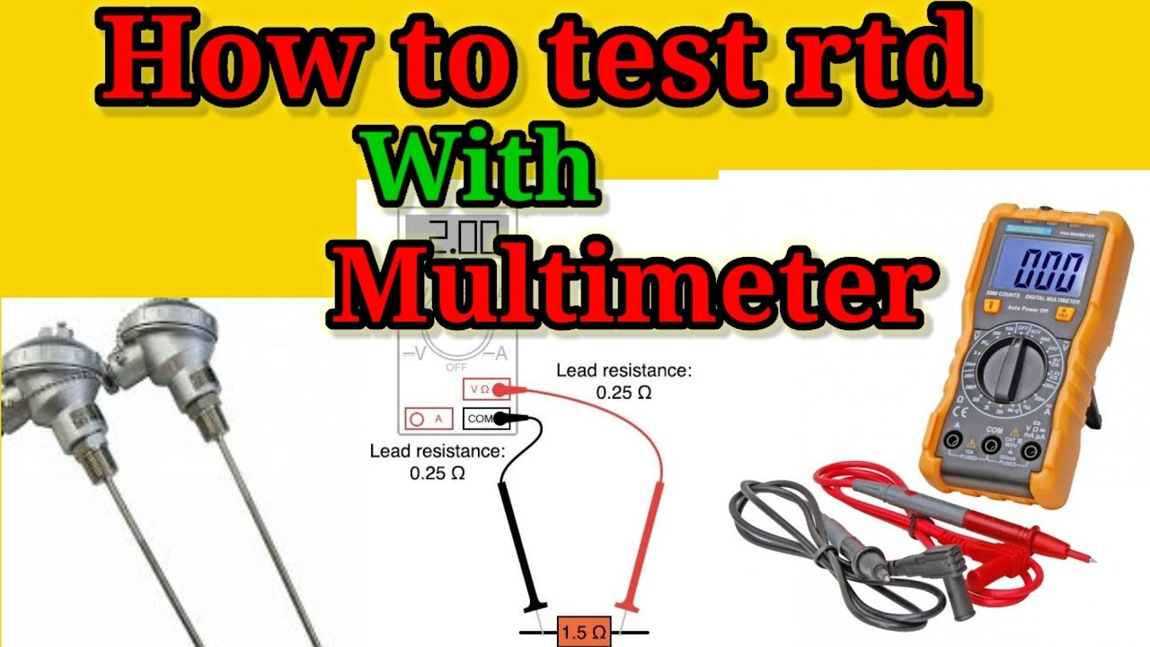 how to test a rtd