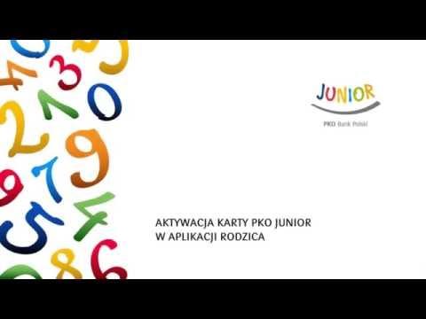 Aktywacja Karty Pko Junior W Aplikacji Rodzica Pko Junior Video