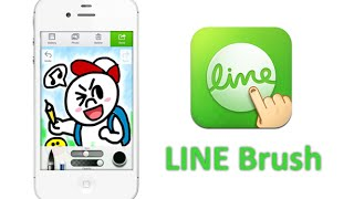 LINE Brush App for Android Phones - ( How to Download , Install and Use LINE BRUSH APP).