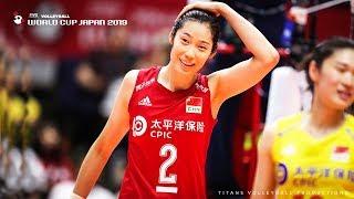 Zhu Ting (朱婷) - BEST Volleyball Attacker | Women's WORLD CUP Japan 2019