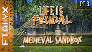 Life is Feudal - New House and Farm! [Pt.3]